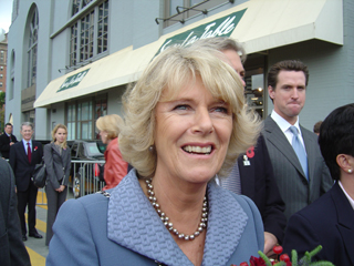 Steven J. Backman Meets Camilla Parker Bowles, November 7, 2005