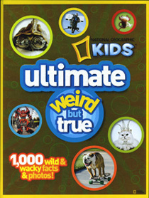 Steven J. Backman Featured in National Geographic Kids ultimate weird but true, 2011