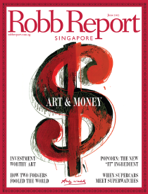 Steven J. Backman Featured in Robb Report Singapore, June 2013