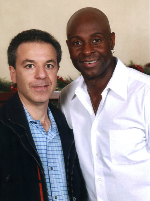 Steven J. Backman and Jerry Rice, December 11, 2010