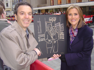 Steven J. Backman and Meredith Vieira, March 15, 2011