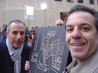 Matt Lauer and Steven J. Backman, March 15, 2011
