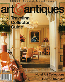 Steven J. Backman Featured in Art & Antiques, Summer 2005