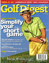 Steven J. Backman Featured in Golf Digest, January 2006