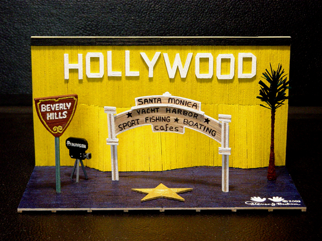 Hollywood Studio Set
