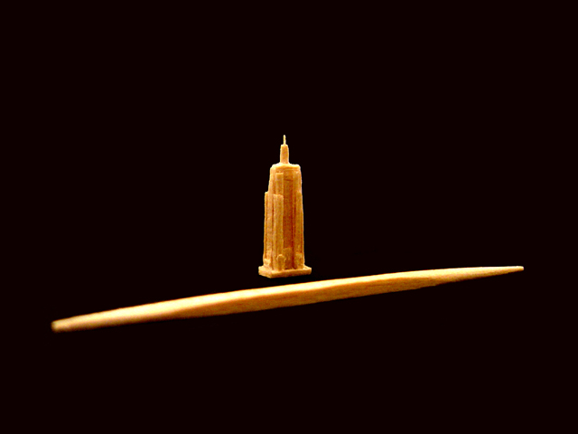 Miniature Empire State Building