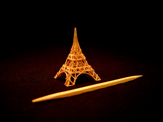 Miniature Eiffel Tower