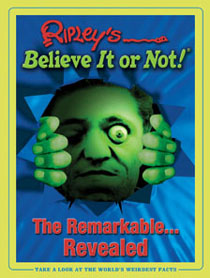 Steven J. Backman Featured in Ripley's Believe It ot Not!  The Remarkable Revealed