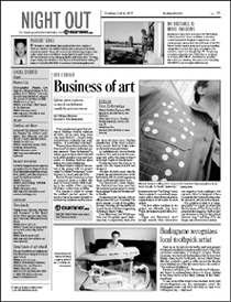 Steven J. Backman Featured in The San Francisco Examiner, July 31, 2007