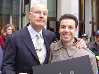 Steven J. Backman Featured on The Early Show, April 14, 2004